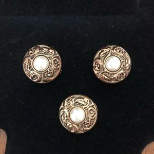 Western Style Button Covers